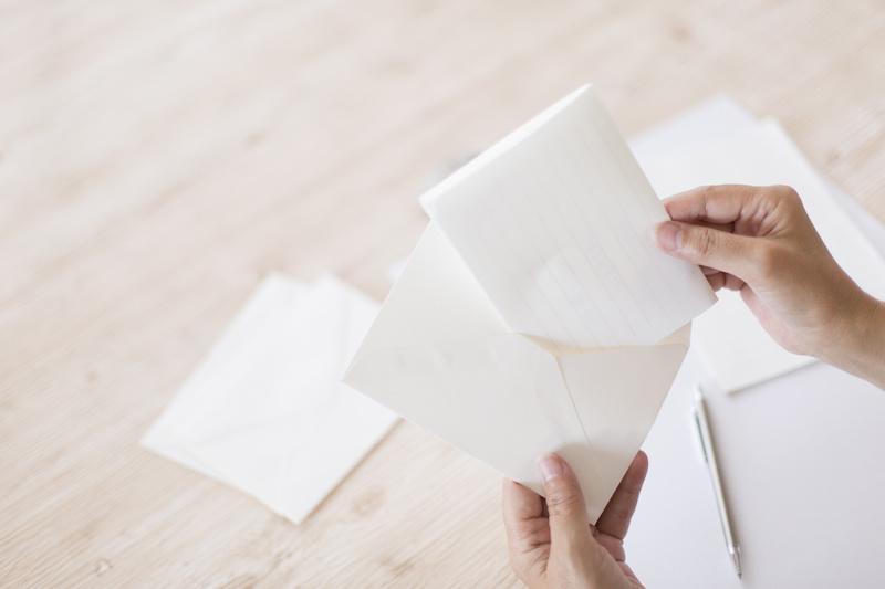 手紙・お礼状