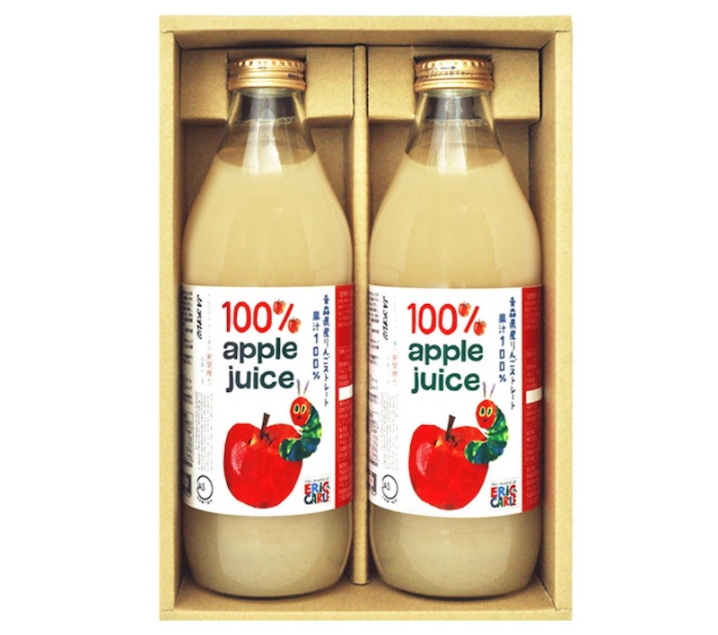 青森県産りんご100%ジュース