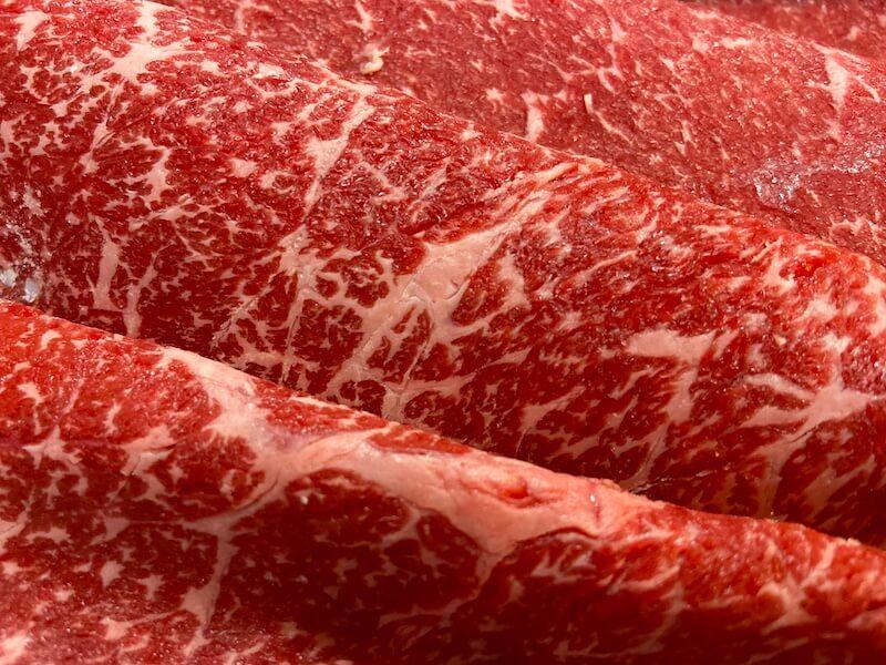 さがえ精肉のすきやき肉(山形牛)