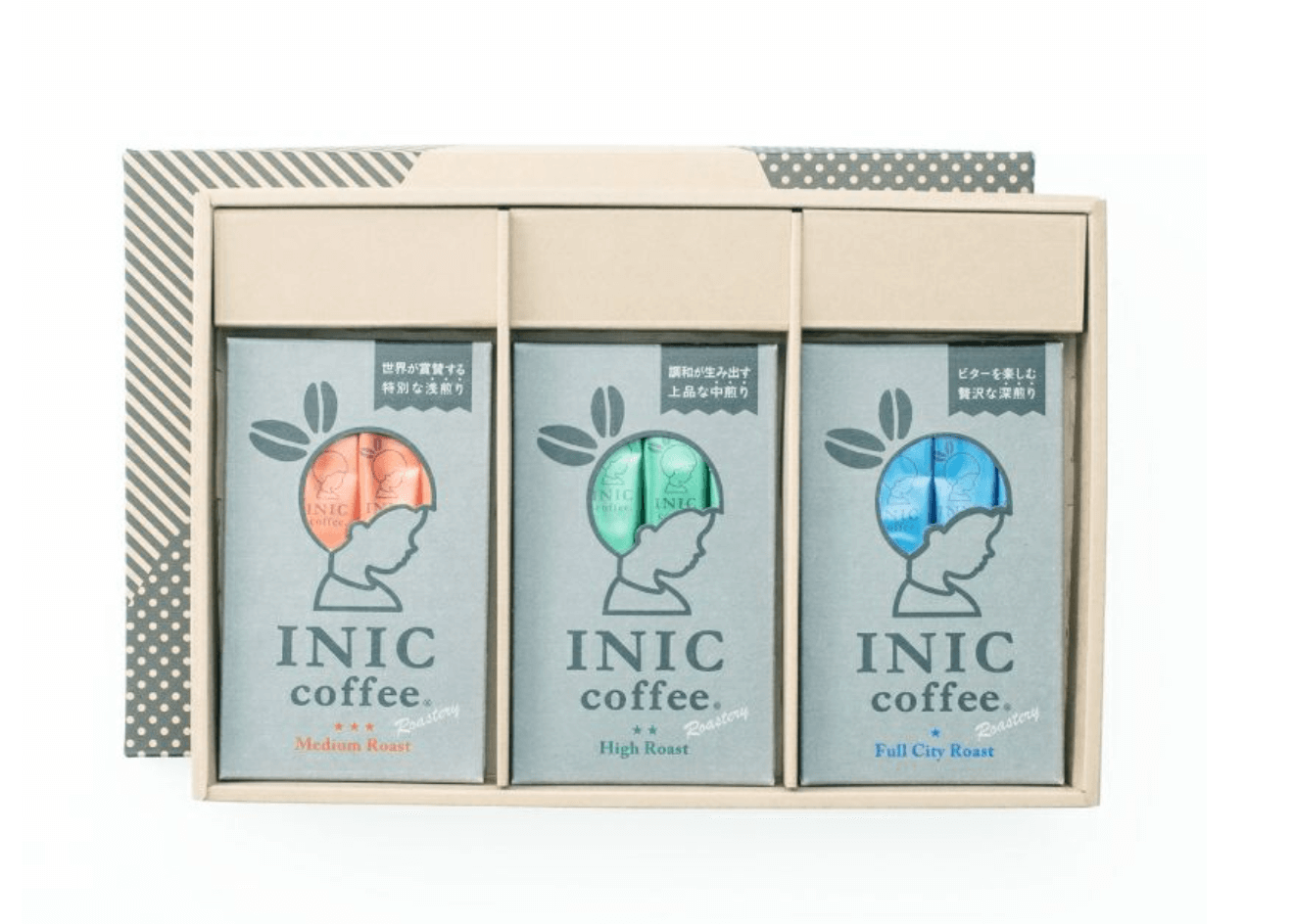 INIC coffee Roastery 3 Flavor Gift