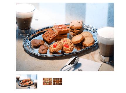 デメルのAssorted Cookies